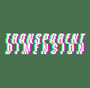 Transparent Dimension Festival Official Logo