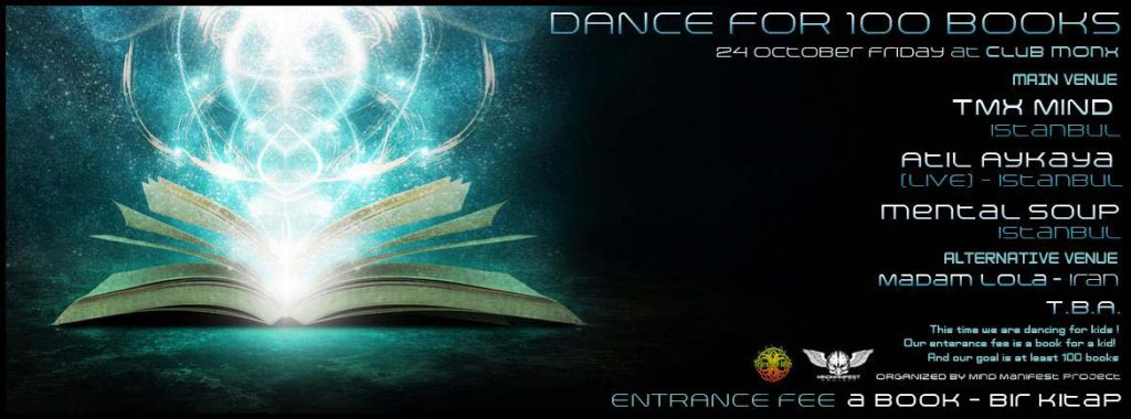 Dance for Books by Mind Manifest Project